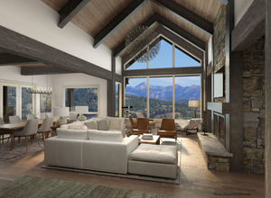 Lot 728 Yellowstone Club, MT.  by Locati Architects, Bozeman